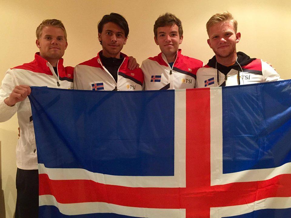 Lið Íslands á Davis Cup 2018