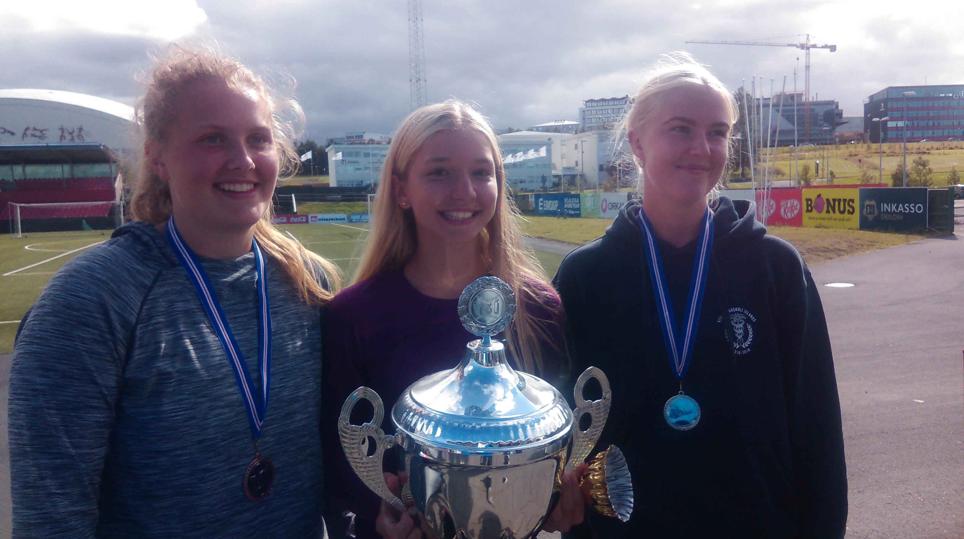 Sofia Sóley og Rafn Kumar Íslandsmeistarar í tennis 2017!