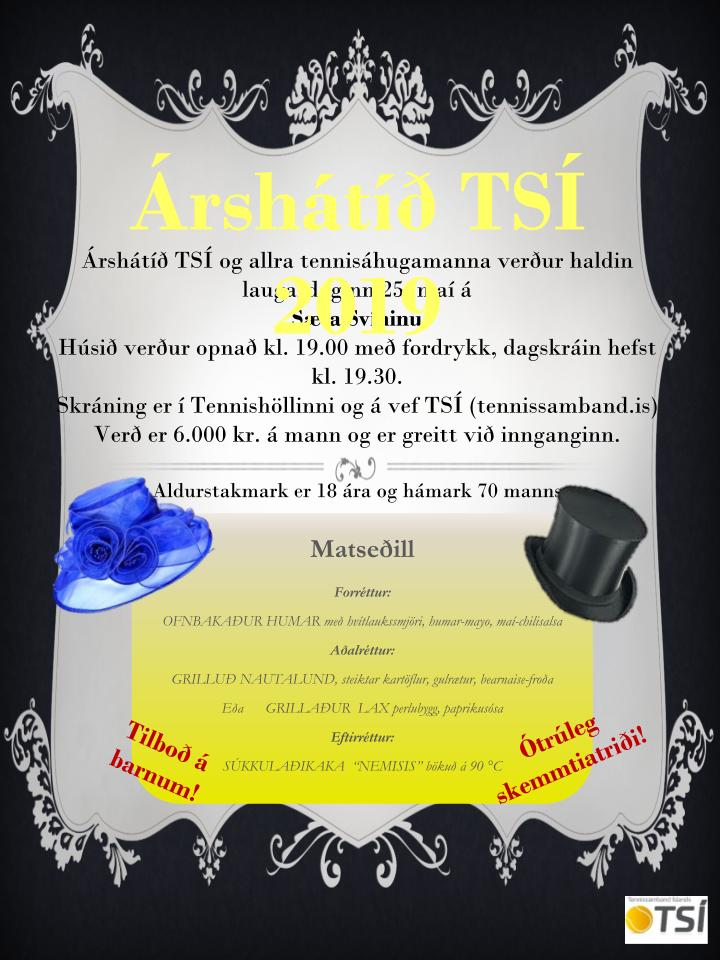 Árshátíð TSÍ 2019!