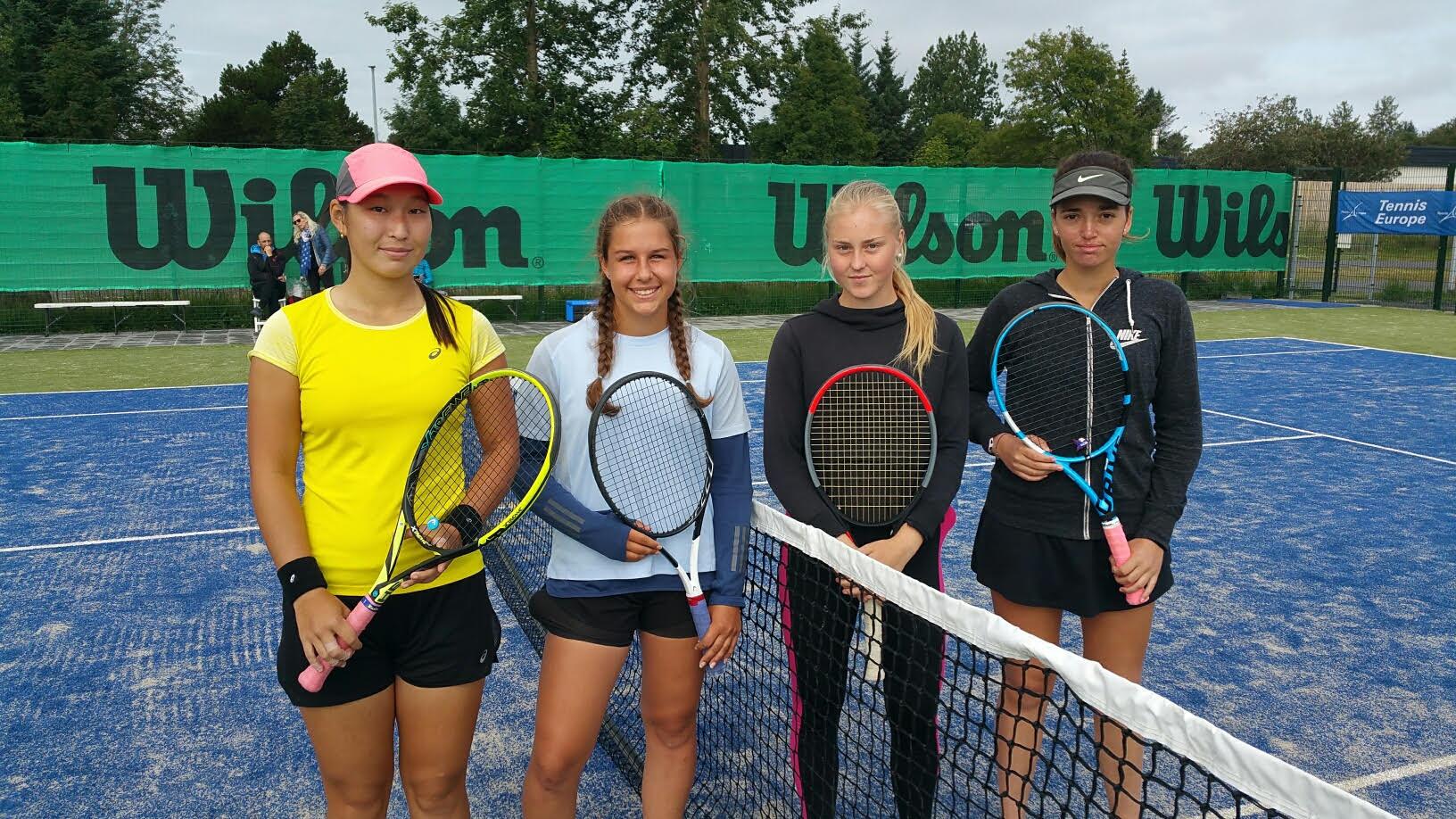 Alþjóða unglinga tennismót U18 hérlendis
