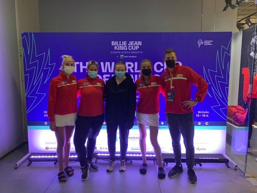 Billie Jean King Cup 2021 – Ísland-Armenía