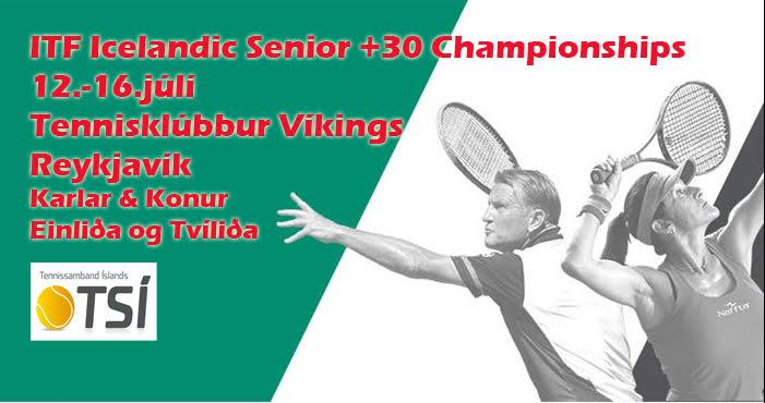 ITF Icelandic Senior 30+ Championships hefjast í dag